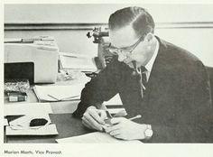 Vintage Pipe Men Dr. Marion Marts, vice provost at the University of Washington, 1967.
