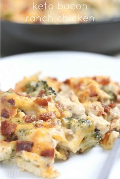 Keto Bacon Ranch Chicken Recipe Recipes - Fabulessly Frugal