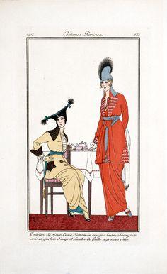 Costumes Parisiens,  Image number:SIL33-057-01: Journal des dames et des modes , 1914