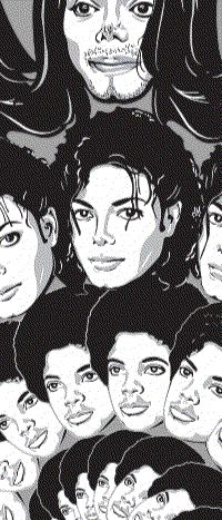 The evolution of Michael Jackson.GIF