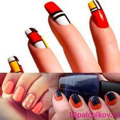 дизайн ногтей со скотчем - Google Search