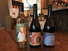 """Got a case of the Mondays? Not to fear, the February #DEWN wine club shipment is going out today! 2016 Verdejo - Originally of North African provenance, distinctive aroma of melon, green apple, pear. 2015 Cigare Alt. E - Almost weightless on the palate but like a proper Burgundy, w/ air and time, just blossoms in the glass. 2013 Syrah, Bien Nacido Vineyard, """"X-Block"""" - Meaty, leathery w/ soft tannins, pairs well w/ lamb rib chops, wild mushroom cobbler. #bonnydoonvineyard"""