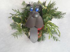 Personalized  Weiner Dog Garden Planter by IngridsSecretGarden, $25.00