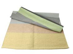 Gulvtæppe - grå og pasteller