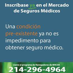 Una condición preexistente ya no es impedimento para tener seguro médico. #Asegurate