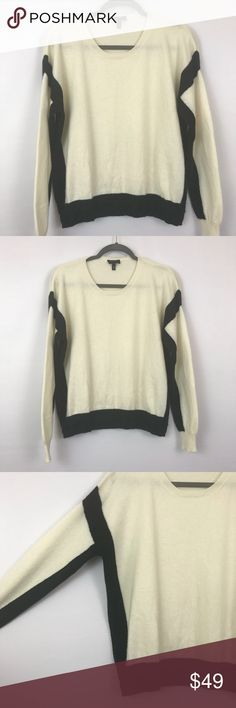 c0757777 Escada Sport 100% Cashmere Colorblock Sweater Gorgeous soft 100% cashmere  sweater from Escada Sport