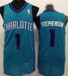 Charlotte Hornets  1 Lance Stephenson Green Swingman Jersey 4484ba026