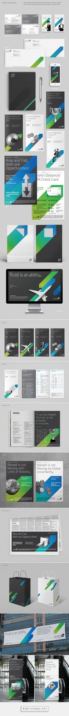 DAISHIN SECURITIES Brand eXperience Design Renewal on Behance - created via http://pinthemall.net