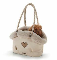 Eh Gia Mimi Bag Ultra Soft Beige Hondendraagtas