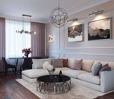 Living room in the LCD Heritage.- Wohnzimmer im LCD Heritage. # modernclassic … Living room in the LCD Heritage. Living Room Grey, Home Living Room, Apartment Living, Interior Design Living Room, Living Room Designs, Interior Livingroom, Apartment Therapy, Living Room Decor Traditional, Apartment Design