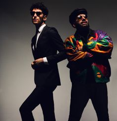 Dave 1 and P-Thugg from Chromeo