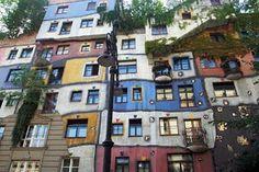 hundertwasser house - in Vienna