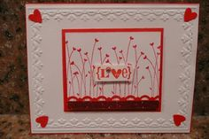 stampin up valentine's card ideas | Valentine Card