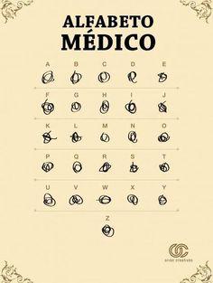 Creo que a los médicos hay que hacerles URGENTE unas clases de caligrafía #SóloEsUnaRecomendación