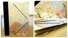 Pega papel o tijeras: Preparando la vuelta al cole. Tutorial: Carpeta decorada