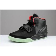http://www.asneakers4u.com/ New Nike Air Yeezy 2 Fire Red/Black