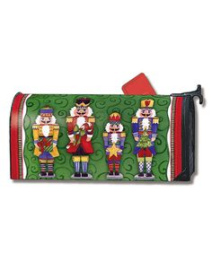 Look at this Green Nutcracker Mailwrap on #zulily today!