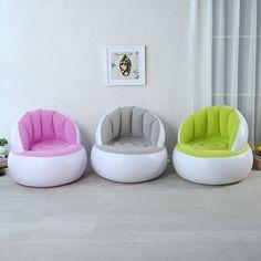 JILONG Parent-child Series Portable Air Flocking Fast Inflatable Lazy Sofa Sleep Bed Creative Cushion