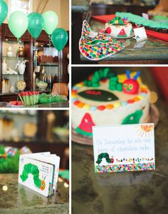 The Very Hungry Caterpillar Party by Randi Marie Photography