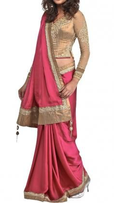 Indian Sarees, Saris | Strandofsilk.com - Indian Designers -- love the richness of the colors.