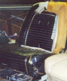 classic car upholstery 101- pt.1