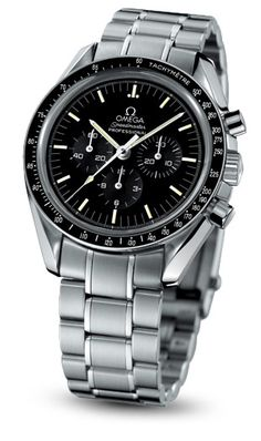 OMEGA Speedmaster 'Moonwatch' - NASA began testing wristwatches for its Gemini & Apollo astronauts in 1962 and the legend of the Omega Speedmaster was born. #Omega #Speedmaster #Professional