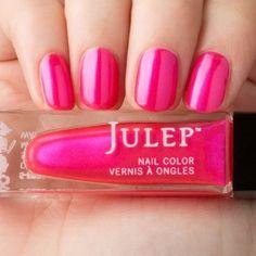 Julep Polly Name: Polly Finish: Shimmer Collection: It Girl Description: Vibrant azalea shimmer