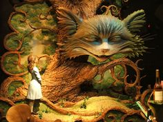 Alice in Wonderland, Fortnum & Mason window display