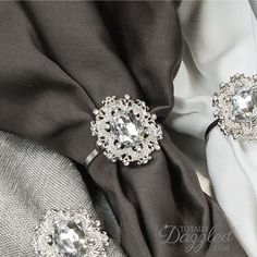 """- PRODUCT OVERVIEW - INSPIRATION - CUSTOMIZATION Measurements Inches (Approx): 1 1/8"""" x 1 1/4"""" (embellishment size) with 1 1/2"""" ring diameter Measurements Millimeters (Approx): 29mm x 33mm (embellishm"""