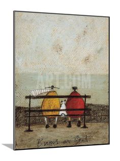 Bums on Seat Art Print by Sam Toft at eu.art.com