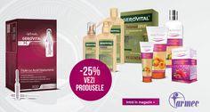 Oferta 25% Reducere la produsele din Farmec & Gerovital !