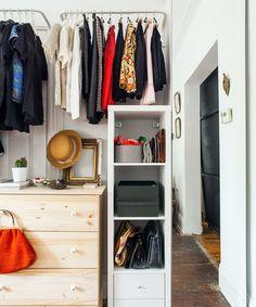 Studio Apartment Closet Ideas real life solutions for apartments with no closets   real life