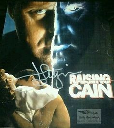 JOHN-LITHGOW-Raising-Cain-8x10-Autographed-RP-lustre-Photo John Lithgow, Raising, Hollywood, Movie Posters, Fictional Characters, Film Poster, Popcorn Posters, Film Posters, Fantasy Characters
