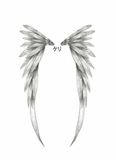 simple angel wings tattoo | Angel Wing Tattoo Design by ~childofthenocht on deviantART