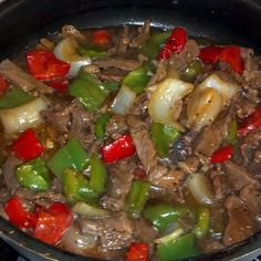 """Mom's Pepper Steak! 4.73 stars, 258 reviews. """"this dish was very good. Nice and…very good"""
