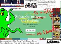 Limited '60% OFF' is New York Times' FAKE SALES DEAL (NY Times Spam, New Round)