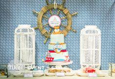Nautical sailor birthday party dessert table boy party ideas - Centerpiece ideas for christmas party Sailor Birthday, Sailor Party, Baby First Birthday, Nautical Cake Pops, Nautical Party, Nautical Rope, Nautical Wedding, Birthday Party Desserts, Boy Birthday Parties