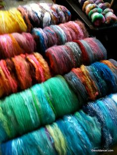 gorgeous wool batts