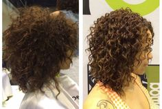 Devacurl Before and after - ShanHair