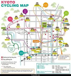 Kyoto Cycling Map | Japan Trip | Pinterest | Kyoto, Cycling and Maps Travel88
