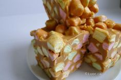 Butterscotch Peanut Butter Marshmallow Squares a.k.a Butterscotch Confetti Squares Recipe