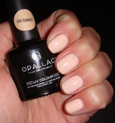 At home Shellac? OPALLAC UV GEL NAILS - does it work??? See my swatches & REVIEW!
