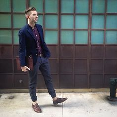 Heritage Blue - Street Style at The Idle Man