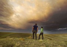 Grasslands National Park in Saskatchewan.  I love the feeling of remoteness:)