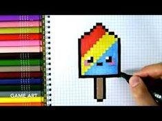 Pixel Art Facile Nourriture Kawaii
