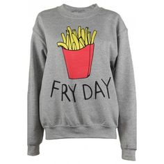 Adolescent Clothing Fryday Sweatshirt ($42) ❤ liked on Polyvore featuring tops, hoodies, sweatshirts, grey, oversized sweatshirt, oversized grey sweatshirt, silk top, gray sweatshirt and gray top