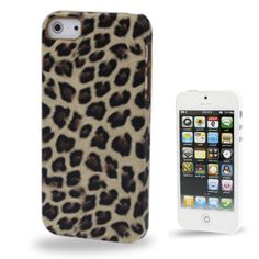 icoverlover - iPhone Cases - Leopard Print iPhone 5 Case, $19.99 (http://www.icoverlover.com/leopard-print-iphone-5-case/)