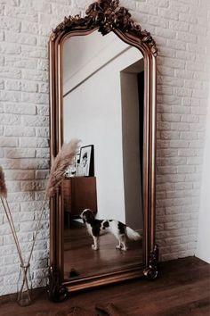 Mirror Decor Living Room, Bedroom Decor, Master Bedroom, Wall Decor, Interiores Shabby Chic, Tuscan Decorating, Interior Design Living Room, Room Inspiration, Fashion Inspiration