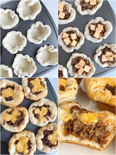 Cheeseburger biscuit cups are a kid-approved, family favorite dinner that are perfect for back-to-school. Simple ingredients, easy to prepare, and a 30 minute meal. Refrigerated biscuit cups loaded with a cheeseburger filling. Dinner Recipes Easy Quick, Healthy Meals For Kids, Quick Easy Meals, Easy Meals For Dinner, Dinner Healthy, Quick Kid Dinners, Easy Kids Meals, Quick Family Meals, Dinner For 2