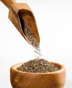 Chia Seed http://www.rodalewellness.com/food/how-to-lower-blood-sugar?slide=4